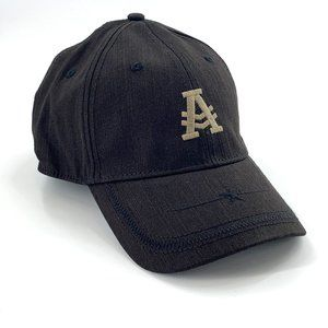 KURTZ Oaks Aflex Baseball Cap Black Cotton Hat